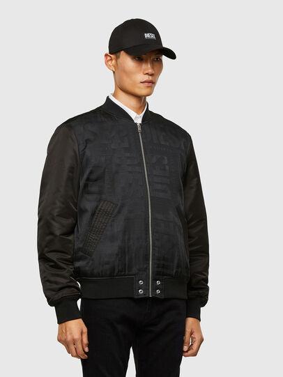 Diesel - J-SCHMIDZ, Black - Jackets - Image 5
