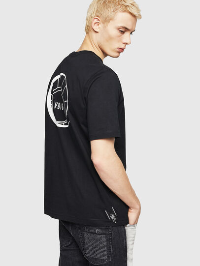 Diesel - T-JUST-A8, Black - T-Shirts - Image 2