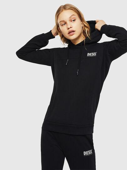 Diesel - UFLT-VICTORIAL-H, Black - Sweaters - Image 1