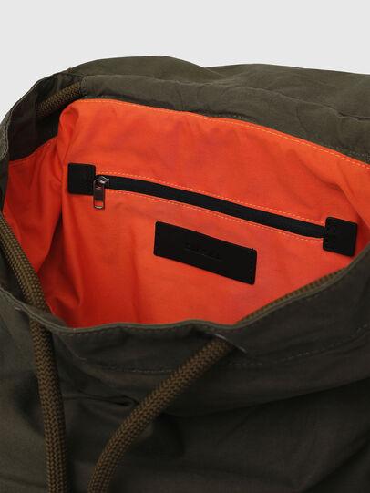 Diesel - VOLPAGO BACK ARMY, Olive Green - Backpacks - Image 6