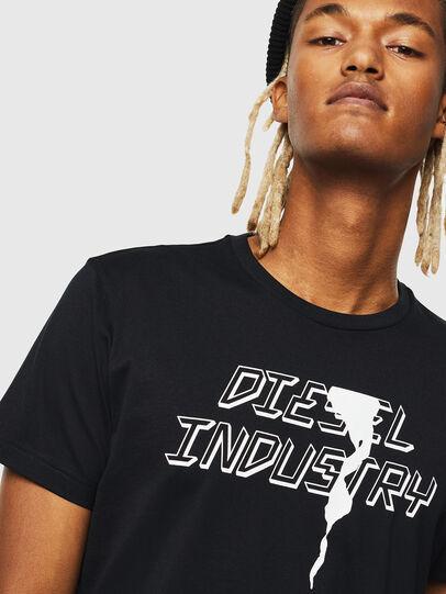 Diesel - T-DIEGO-J25, Black - T-Shirts - Image 3