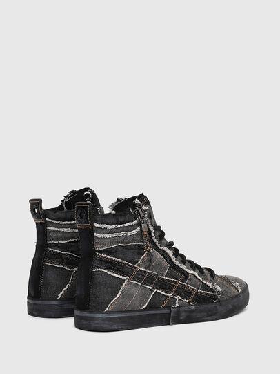 Diesel - D-VELOWS MID LACE, Grey Jeans - Sneakers - Image 3