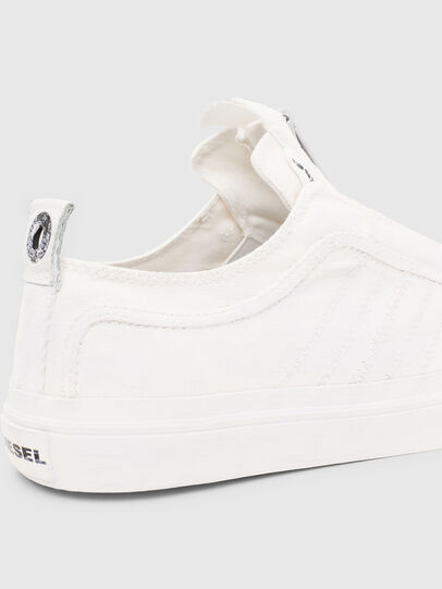 Diesel - S-ASTICO LOW ZIP SP, White - Sneakers - Image 6