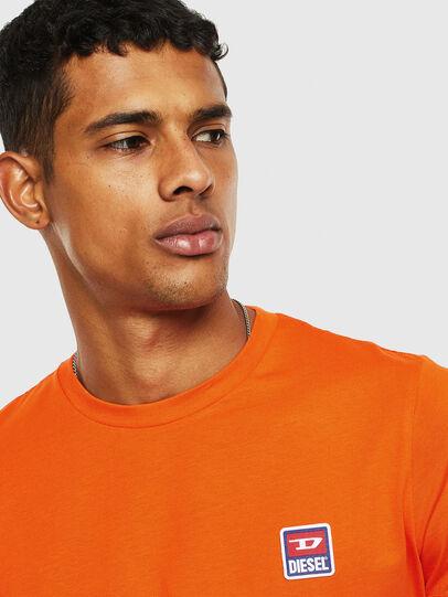 Diesel - T-DIEGO-DIV, Orange - T-Shirts - Image 3
