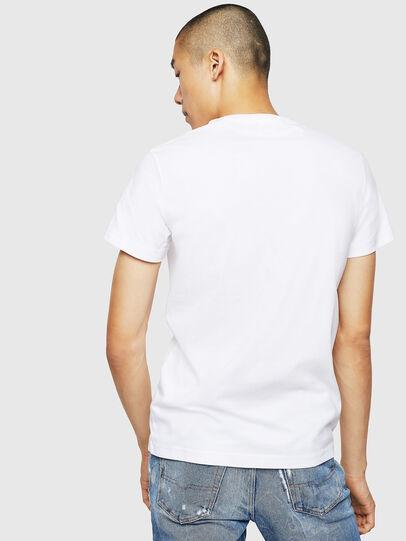 Diesel - T-DIEGO-B3, White - T-Shirts - Image 2