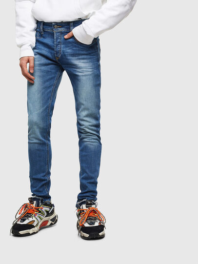 Diesel - Sleenker CN053, Medium blue - Jeans - Image 1