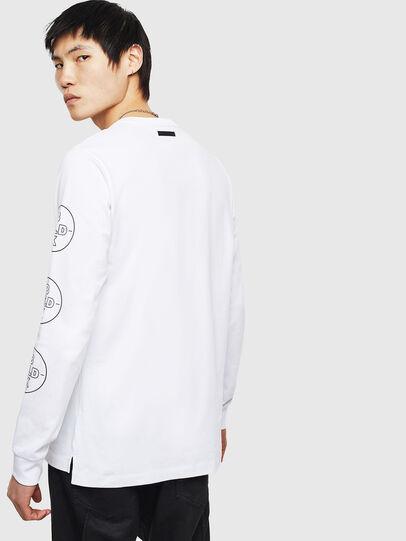 Diesel - T-GRANITE, White - T-Shirts - Image 2