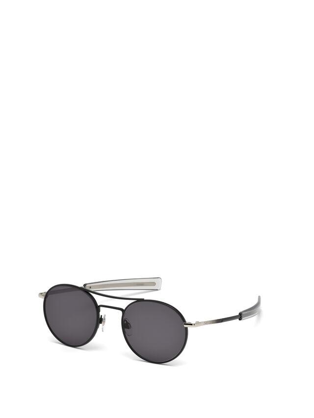 Diesel - DL0220, Black - Eyewear - Image 4