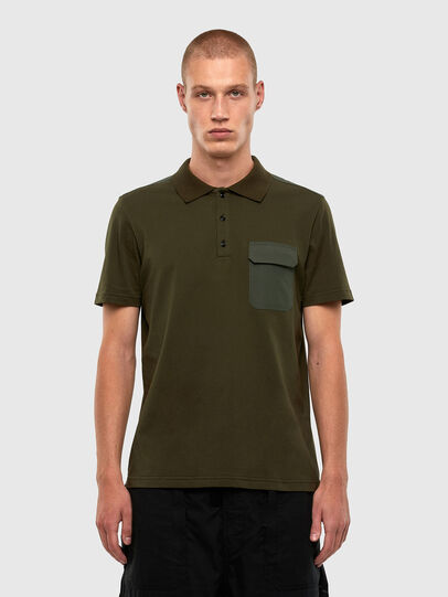 Diesel - T-HARLY, Military Green - Polos - Image 1