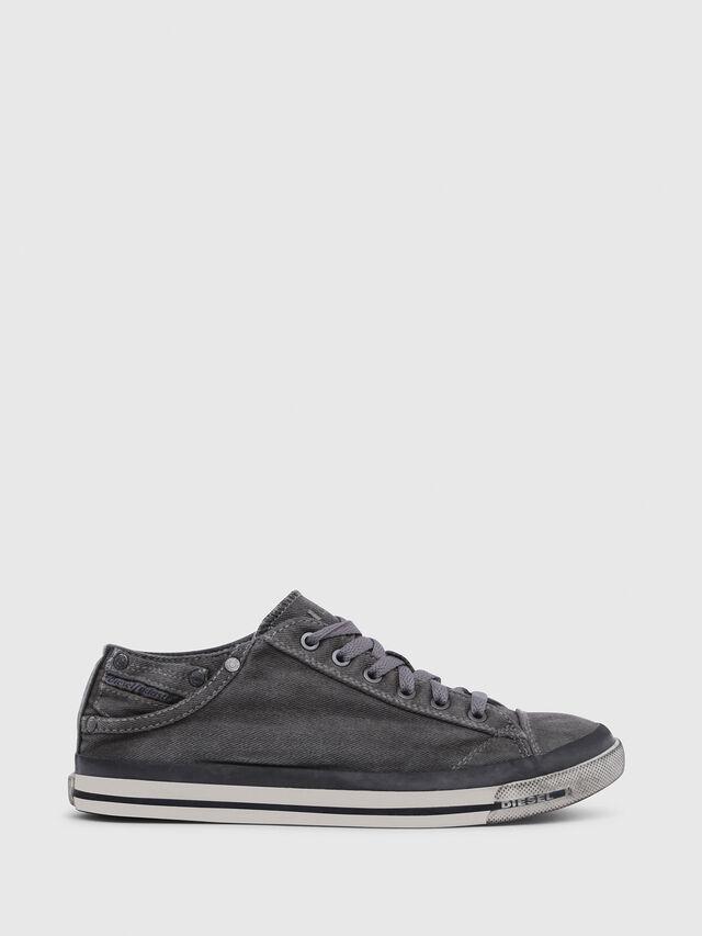 Diesel - EXPOSURE IV LOW  W, Metal Grey - Sneakers - Image 1