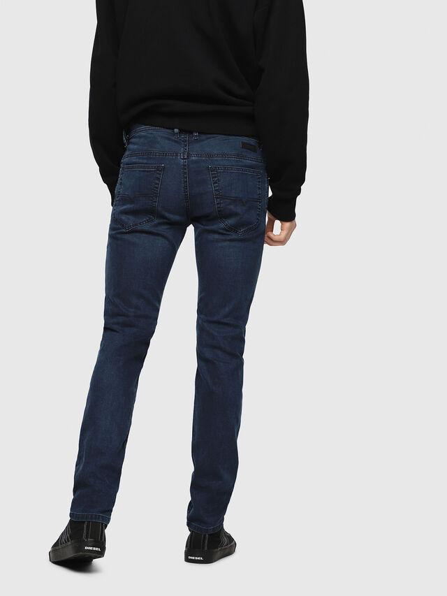 Diesel - Thommer JoggJeans 0688J, Dark Blue - Jeans - Image 2