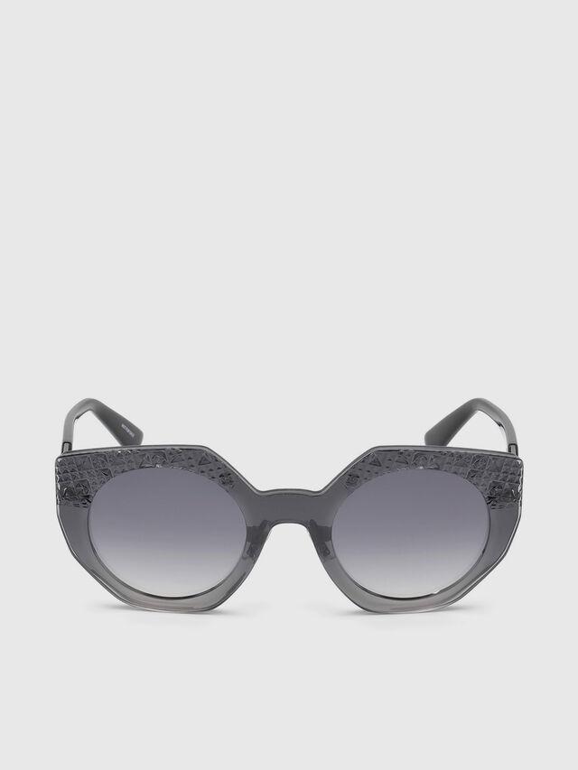 Diesel DL0258, Grey - Eyewear - Image 1