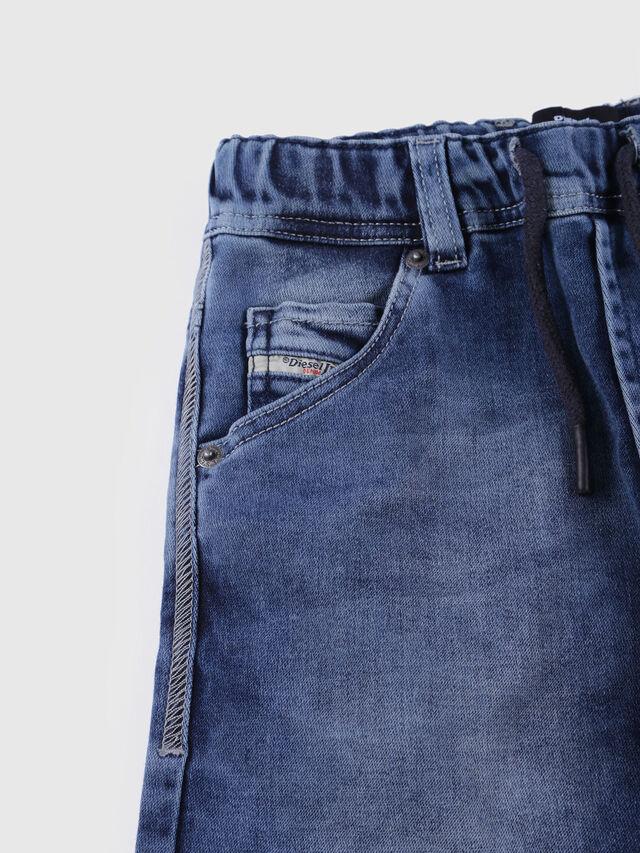 KIDS KROOLEY SH JOGGJEANS J, Blue Jeans - Shorts - Image 3
