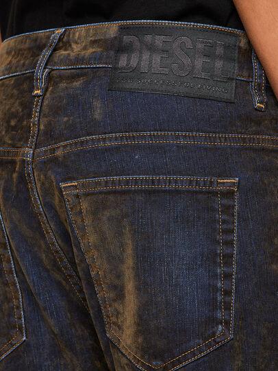 Diesel - Fayza 069RQ, Blue/Yellow - Jeans - Image 5