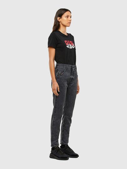 Diesel - Krailey JoggJeans 069QB, Black/Dark grey - Jeans - Image 6