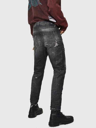 Diesel - D-Vider 083AB, Black/Dark grey - Jeans - Image 4