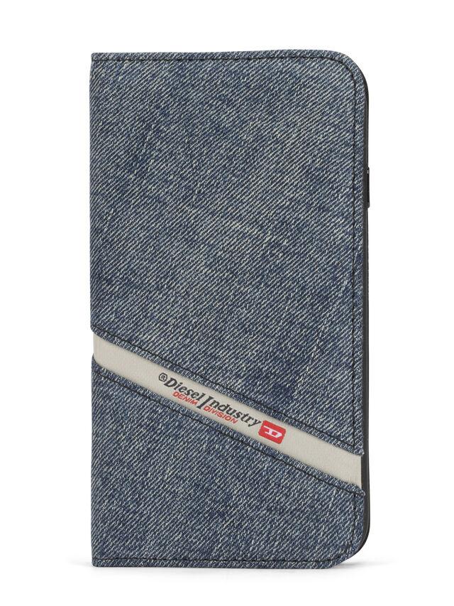 Diesel DENIM IPHONE 8/7 FOLIO, Blue Jeans - Flip covers - Image 2