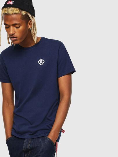 Diesel - CC-T-DIEGO-COLA, Dark Blue - T-Shirts - Image 1