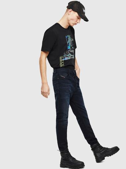 Diesel - D-Eetar 084AY, Dark Blue - Jeans - Image 5
