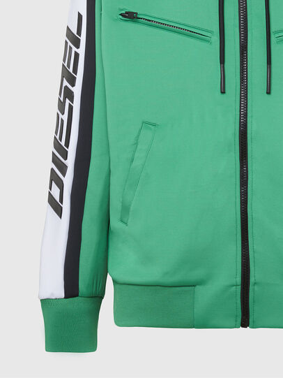 Diesel - S-STEEL, Green - Sweaters - Image 5