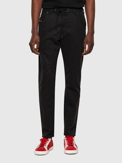 Diesel - Krooley JoggJeans® 069NC, Black/Dark grey - Jeans - Image 1