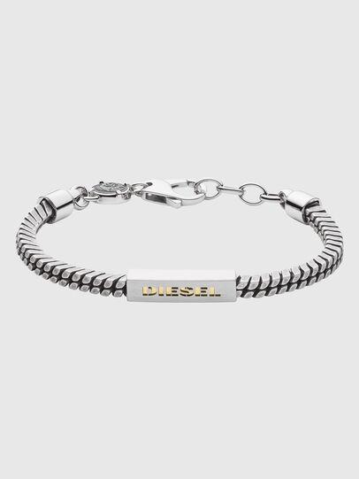 Diesel - DX1238, Silver - Bracelets - Image 1