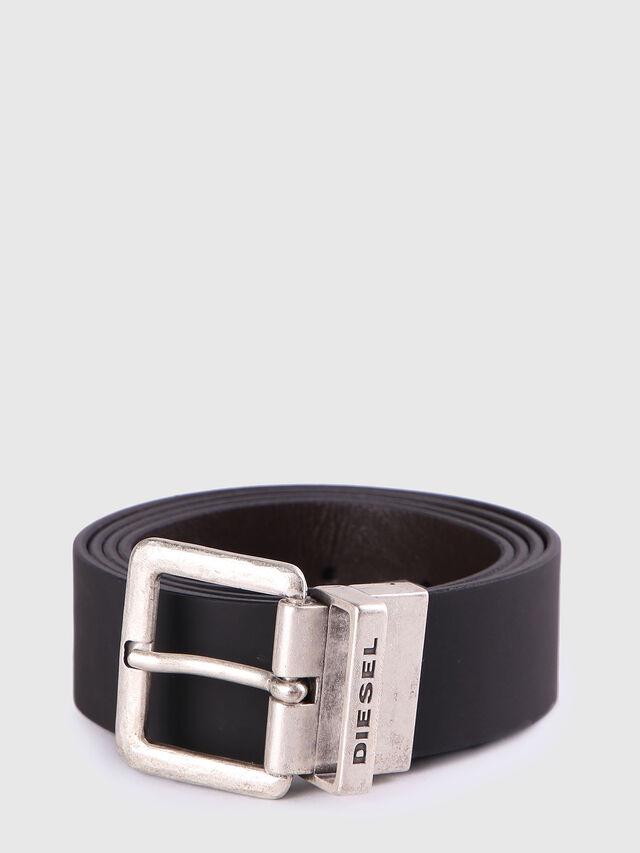 Diesel B-DOUBLEC, Black/Brown - Belts - Image 1