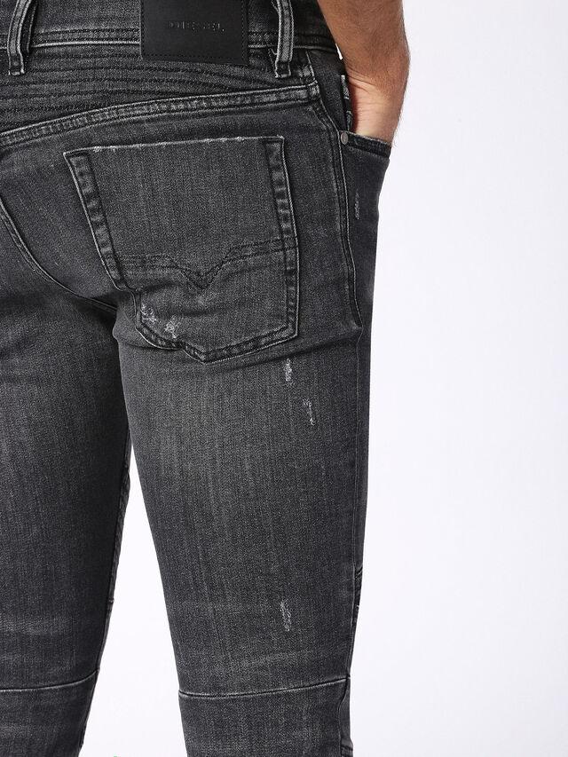 Diesel - Fourk 084NQ, Black/Dark grey - Jeans - Image 6