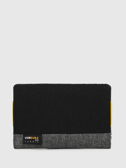 Diesel - ORGANIESEL, Black/Yellow - Small Wallets - Image 2