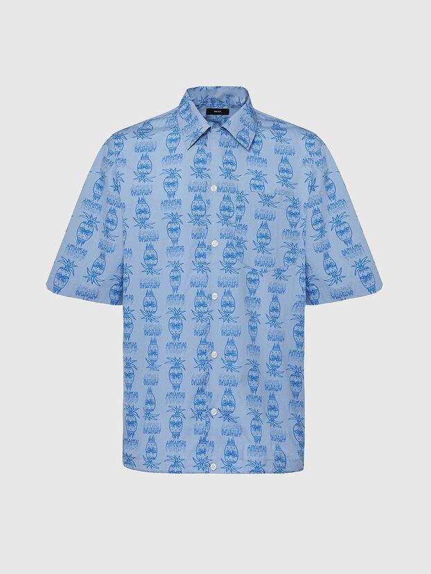 S-ROHAD-C, Light Blue - Shirts