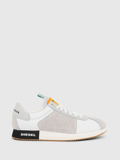 Diesel - S-PYAVE LC, White/Grey - Sneakers - Image 1
