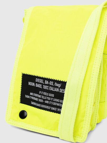 Diesel - ANKO, Yellow Fluo - Crossbody Bags - Image 6