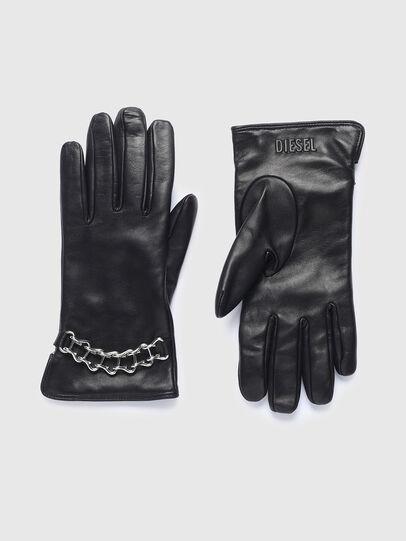 Diesel - G-PLACKI-A, Black - Gloves - Image 1