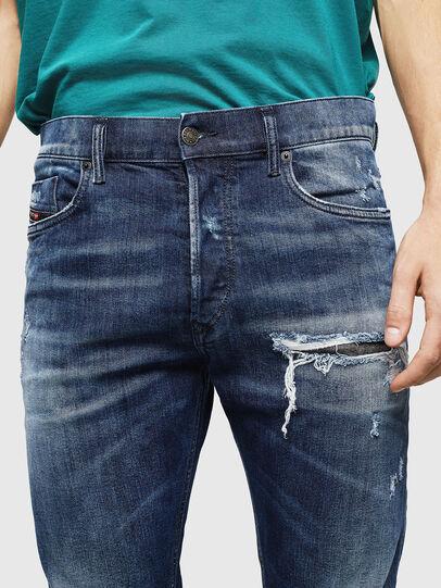 Diesel - Tepphar 0090G, Dark Blue - Jeans - Image 4