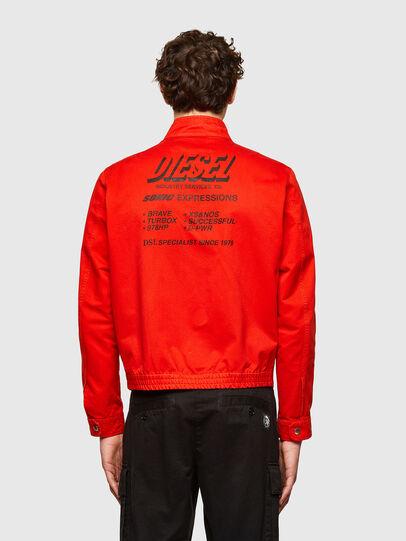 Diesel - J-HALLS-PRINT, Orange - Jackets - Image 2