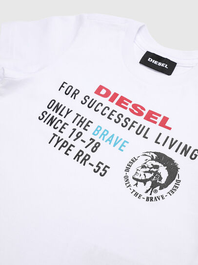 Diesel - TDIEGOXB, White - T-shirts and Tops - Image 3