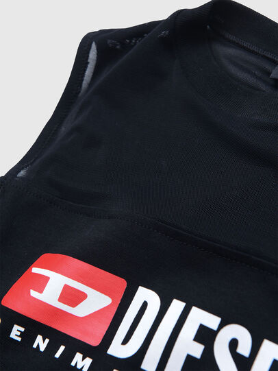 Diesel - TGIORGIT, Black - T-shirts and Tops - Image 3