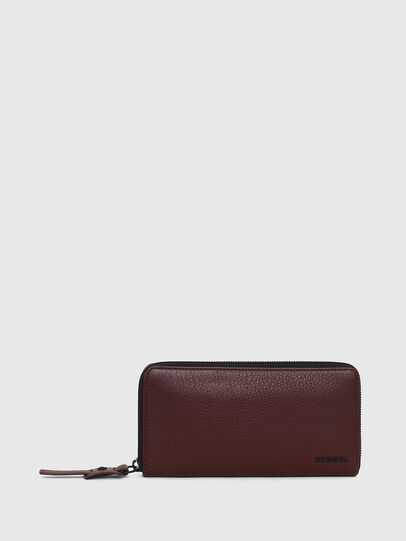 Diesel - 24 ZIP, Burgundy - Small Wallets - Image 1