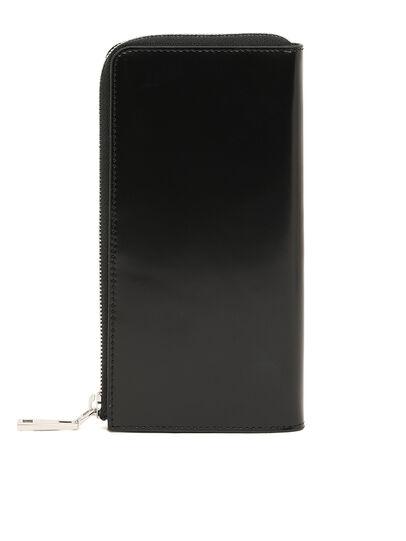 Diesel - L-24 ZIP, Black - Zip-Round Wallets - Image 2
