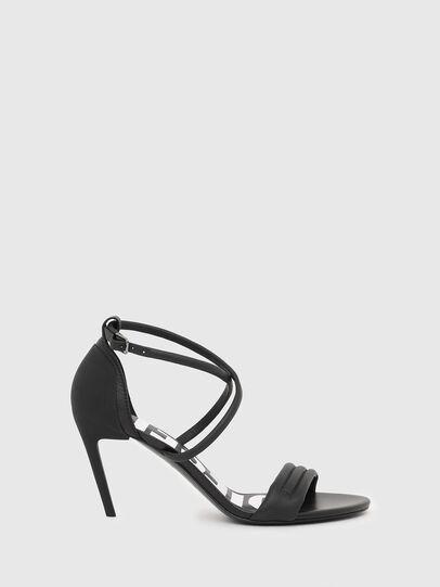 Diesel - SA-SLANTY MXR, Black - Sandals - Image 1