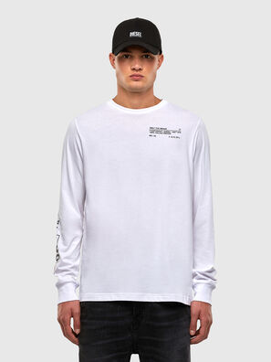 T-JUST-LS-N62, White - T-Shirts
