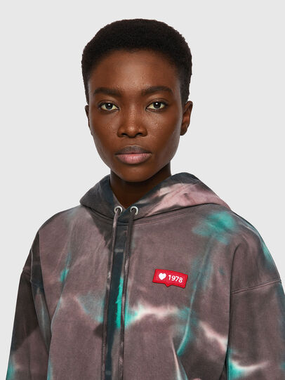 Diesel - F-LYM-HOOD, Dark Violet - Sweaters - Image 3
