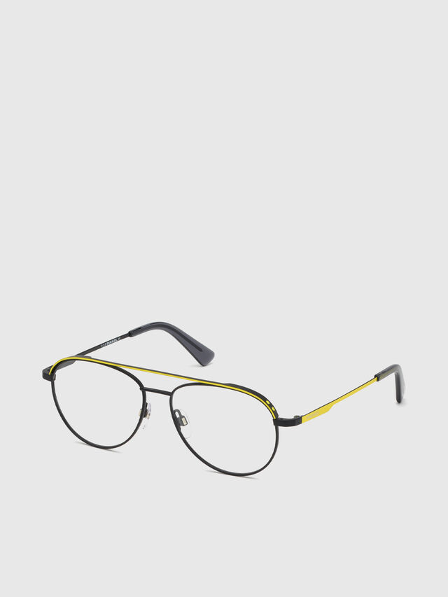Diesel - DL5305, Yellow - Eyeglasses - Image 2