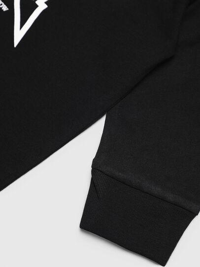 Diesel - TDIEGOYHB-ML, Black - T-shirts and Tops - Image 3
