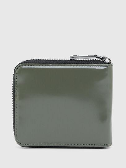 Diesel - HIRESH XS ZIPPI, Military Green - Zip-Round Wallets - Image 2