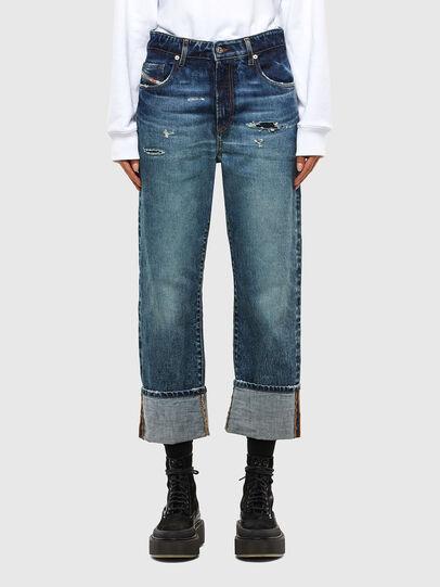 Diesel - D-Reggy 0079P, Dark Blue - Jeans - Image 1