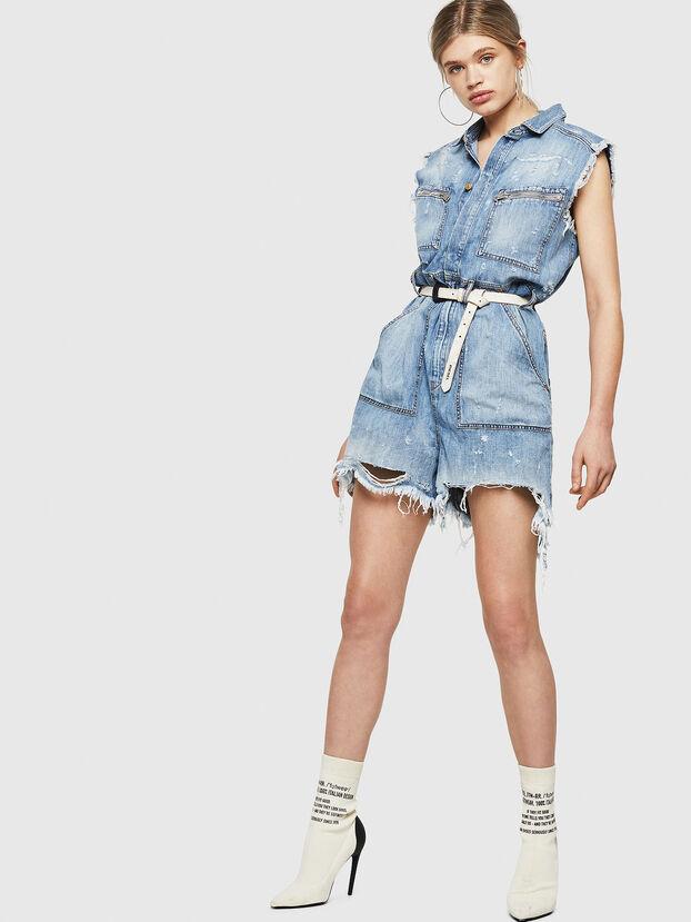 DE-BETTE, Blue Jeans - Jumpsuits