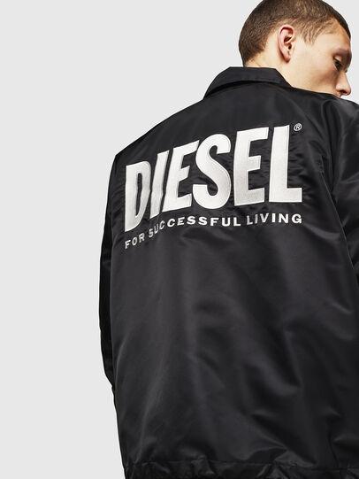 Diesel - J-AKIO-A, Black - Jackets - Image 2