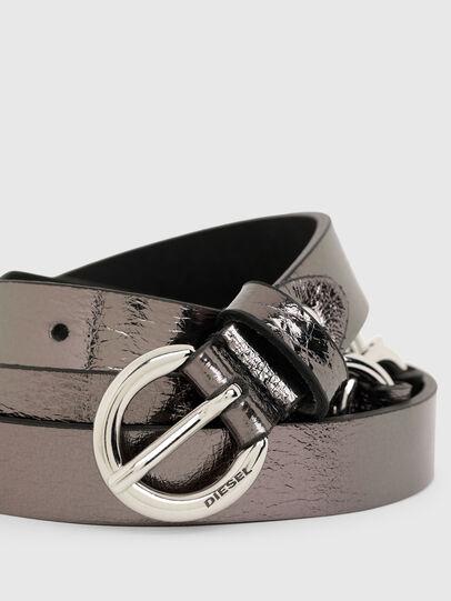 Diesel - B-OLIMP, Grey/Black - Belts - Image 2