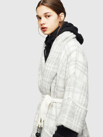Diesel - M-BOU, Grey/White - Knitwear - Image 3